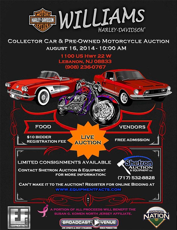 Collector Car - Pre-owned Motorcycle Auction