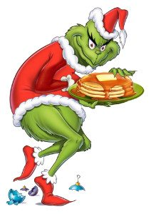Grinch Steals pancakes